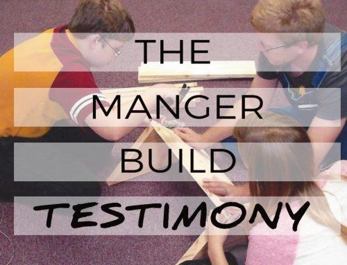 The Manger Build Testimony: Charlie McKinney
