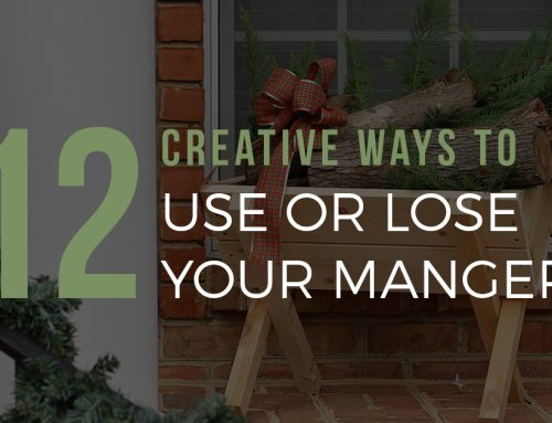 12 Creative Ways to Use or Lose Your Manger